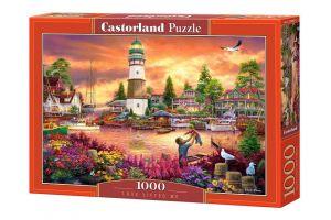Puzzle Castorland  1000 dílků -  Přístav 103645