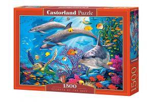 Puzzle Castorland  1500 dílků - Tajemství útesu  151486