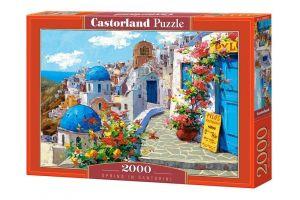 Puzzle Castorland 2000 dílků  Jaro na Santorini 200603