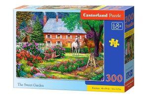 Puzzle Castorland 300 dílků - Sladká zahrada 030217