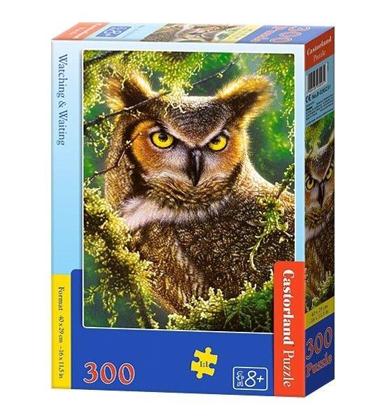 Puzzle Castorland 300 dílků - Sova 030231