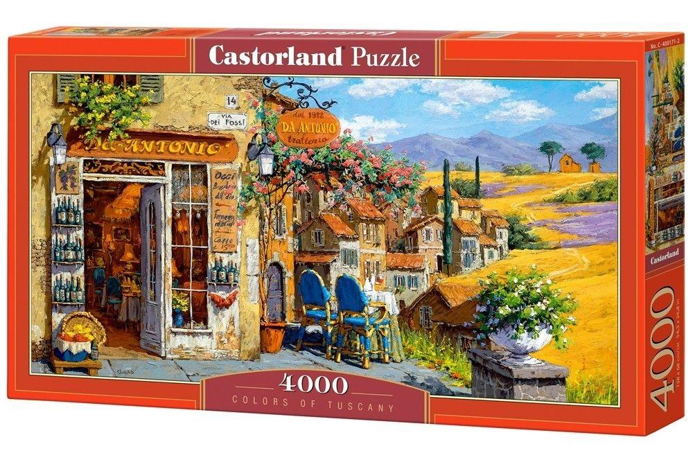 Puzzle Castorland 4000 dílků - Barvy Toskánska 400171