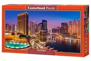 Puzzle  Castorland  4000 dílků - Marina Pano Dubai  400195