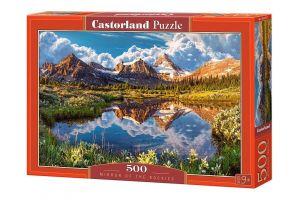 Puzzle Castorland 500 dílků - Hory  52417