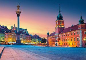 Puzzle Castorland 500 dílků - Hradní náměstí ve Varšavě 52486