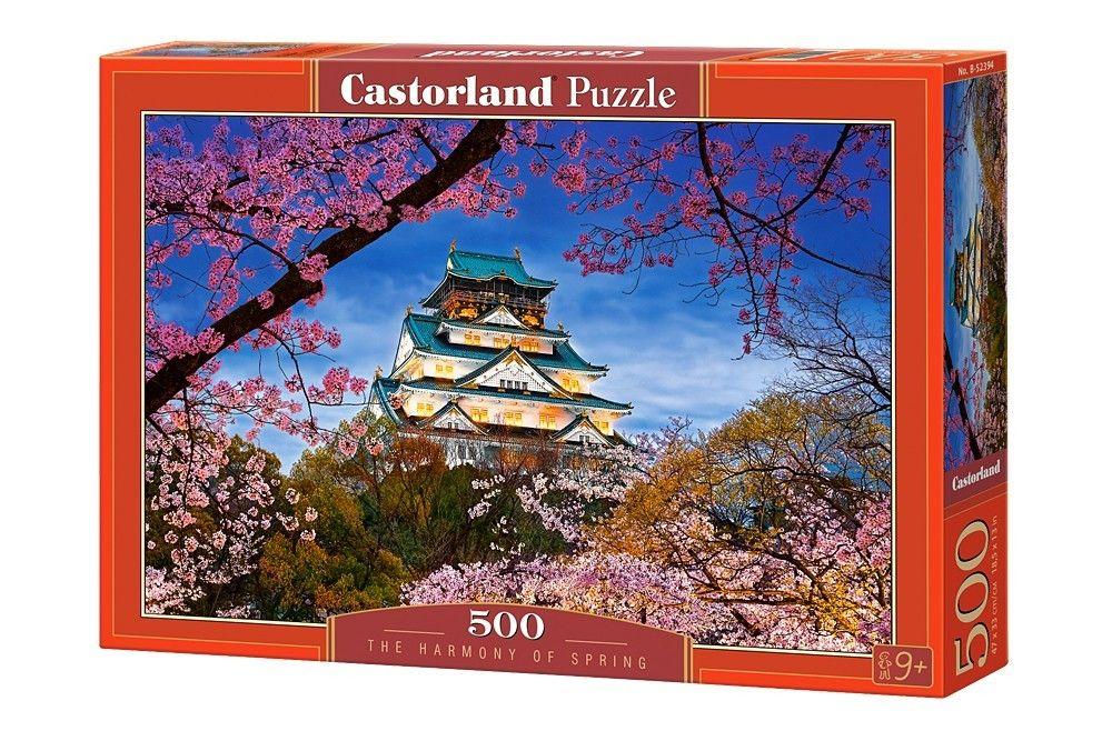 Puzzle Castorland 500 dílků - Jarní harmonie 52394