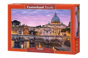 Puzzle Castorland 500 dílků - Pohled na Vatikán  52493