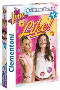 Puzzle Clementoni - 104 dílků  Briliant   -  Soy Luna 20136