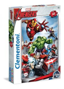 Puzzle Clementoni 60 dílků  -  Avengers  26932