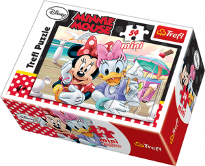 Puzzle mini 54 dílků - Trefl - Minnie  Mouse 19472