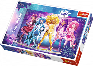 Puzzle Trefl 100 dílků - Star Darlings 16309