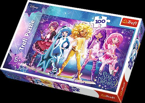 Puzzle Trefl 100 dílků - Star Darlings 16309