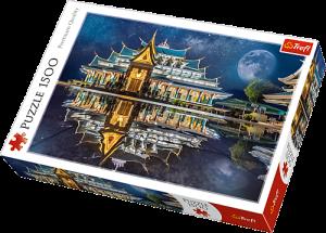 Puzzle Trefl 1500 dílků - Chrám Wat Pa Phu Kon Thajsko -  Trefl 26141