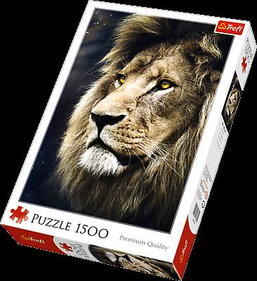 Puzzle Trefl 1500 dílků - Lev 26139