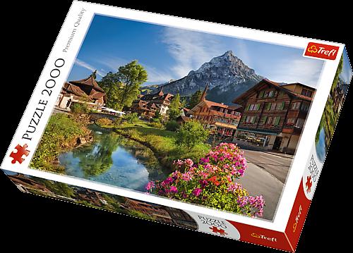 Puzzle Trefl 2000 dílků - Alpy v létě 27089