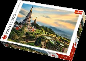 Puzzle Trefl 2000 dílků - Chiang Mai Thajsko   27088