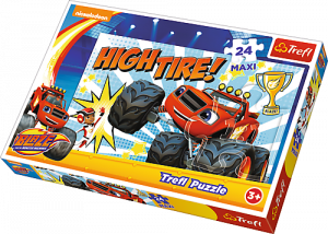Puzzle Trefl 24 MAXI dílků - Blaze - Vítěz 14244