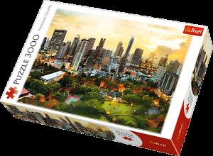Puzzle TREFL 3000 dílků - Soumrak v Bangkoku Thajsko 33060