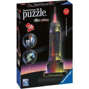 Ravensburger 3D puzzle Empire State Building  Noční Edice 216d