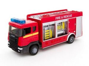 TEAMA - hasičské auto  2ass 1:48 - cisterna - skříňová varianta