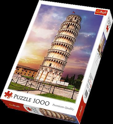 TREFL Puzzle 1000 dílků Šikmá věž v Pise Itálie 10441