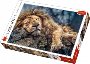 TREFL Puzzle 1000 dílků Spící lev 10447