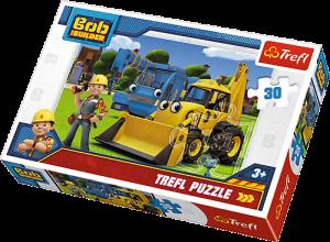 Trefl puzzle  30 dílků  - Bořek Stavitel  - 18214