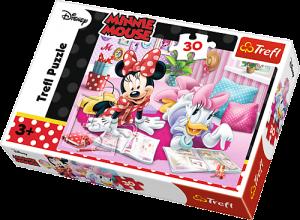 Trefl puzzle  30 dílků  - Minnie Nejlepší kamarádky  - 18217