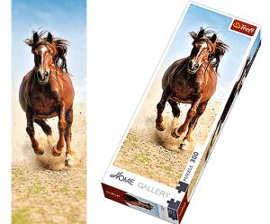 TREFL puzzle 300 dílků - Kůň- dusot kopyt   - 75004