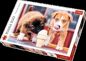 TREFL Puzzle  500 dílků -  Čas na zmrzlinu   37272