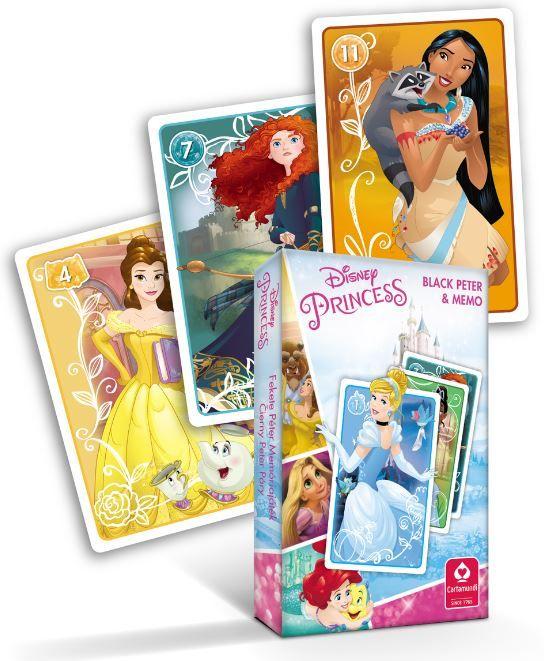 Princezny - karty Černý Petr - Cartamundi