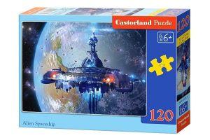 Puzzle Castorland 120 dílků - Kosmická loď  13272