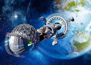 Puzzle Castorland 180 dílků - Kosmická loď  018260