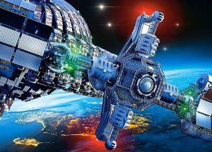 Puzzle Castorland 260 dílků - Kosmická loď 27408