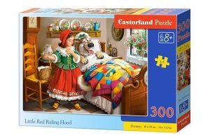 Puzzle Castorland 300 dílků - Červená Karkulka 030118
