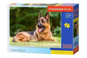 Puzzle Castorland 300 dílků - Německý ovčák  030200
