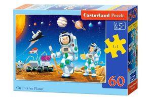 Puzzle Castorland 60 dílků - Na jiné planetě  06953