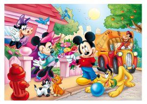 Puzzle Lisciani 150 dílků MAXI - oboustranné - Mickey 48328 Lisciangiochi