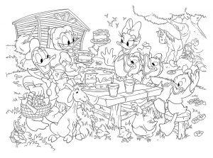 Puzzle Lisciani 35 dílků MAXI - oboustranné - Mickey 48199 Lisciangiochi