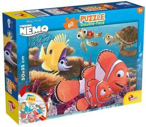 Puzzle Lisciani  60 dílků - oboustranné - Hledá se Nemo - 47949