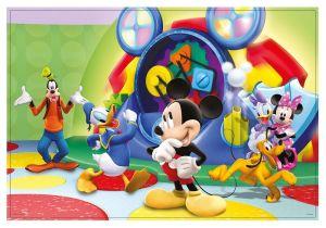 Puzzle Lisciani 60 dílků - oboustranné - Mickey - 47895 Lisciangiochi