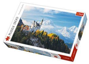 Puzzle Trefl 1500 dílků - Bavorské Alpy -  Trefl 26133