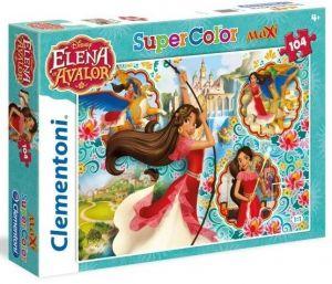 Clementoni puzzle 104 dílků MAXI - Elena z Avaloru  24479