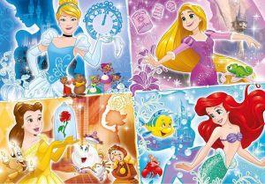 Clementoni puzzle 104 dílků MAXI - Princezny 23703