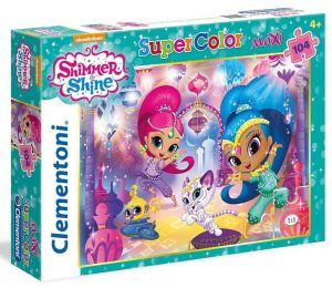 Clementoni puzzle 104 dílků MAXI - Shimmer a Shine  23705