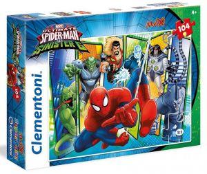 Clementoni puzzle 104 dílků MAXI - Spiderman 23704