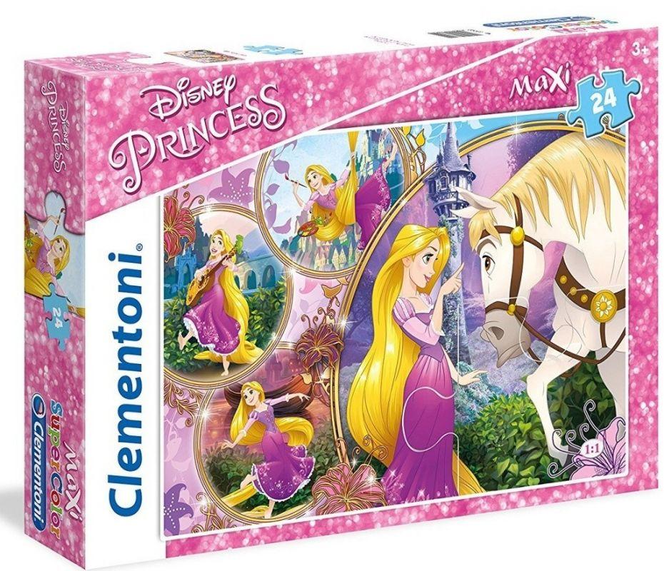 Clementoni puzzle 24 dílků MAXI - Na vlásku 23702