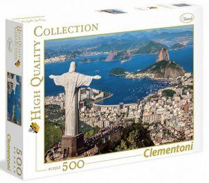 CLEMENTONI Puzzle 500 dílků -  Rio de Janeiro  35032
