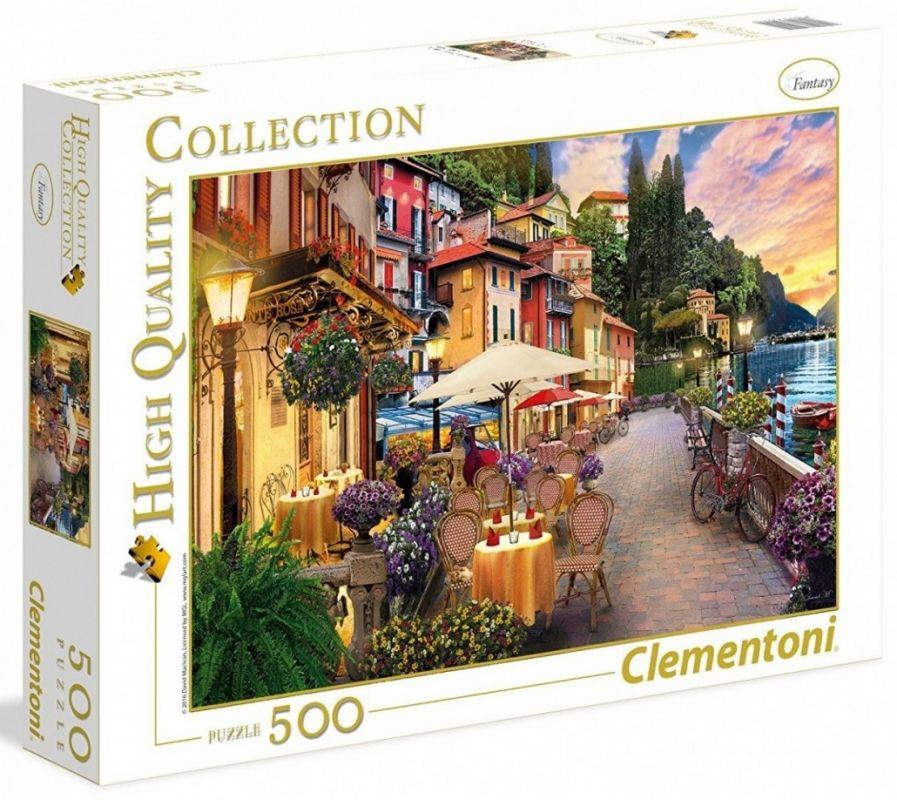CLEMENTONI Puzzle 500 dílků - Zasnění v Monte Rosa 35041