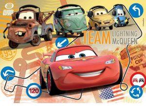 Deskové puzzle Clementoni - 15 dílků - CARS 2  22216c